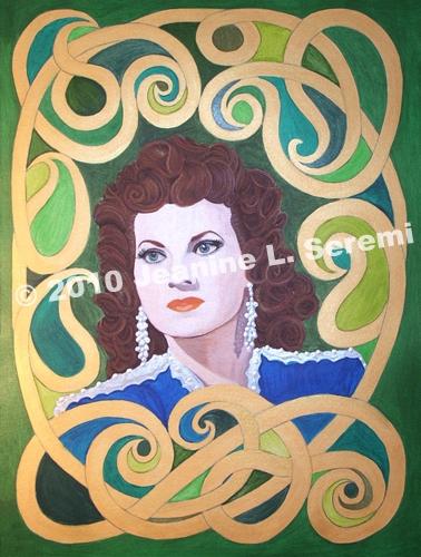 Maureen O'Hara by JeanineLSeremi